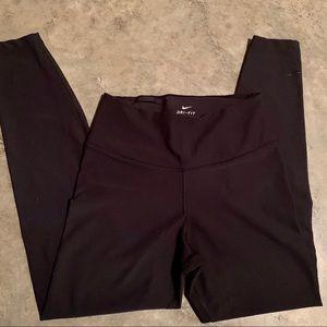 Black, Dri-Fit Nike leggings